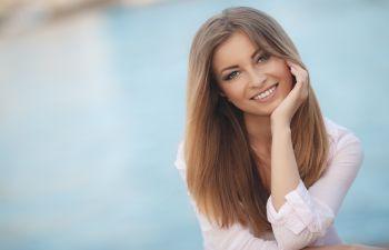 Smiling single woman Johns Creek, GA