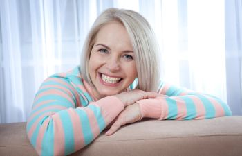 Mature woman with white teeth Johns Creek, GA