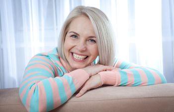 Mature woman with white teeth Johns Creek, GA