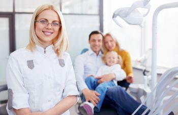 dentist with family Johns Creek, GA